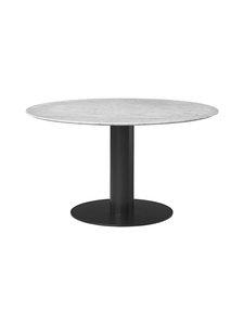 Gubi - 2.0-pöytä Ø 130 cm - WHITE CARRARA MARBLE | Stockmann