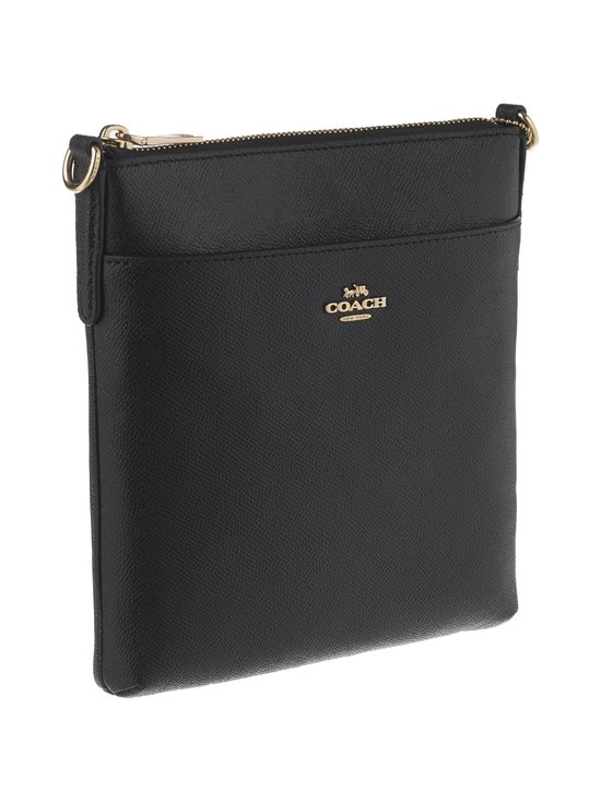 Coach - Crossbody Messenger -nahkalaukku - BLACK/GOLD | Stockmann - photo 2