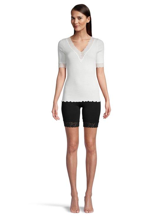 Rosemunde - Organic V-Neck T-Shirt -paita - 037 IVORY | Stockmann - photo 2