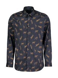 Ted Baker London - Teray Animal Print -kauluspaita - 10 NAVY | Stockmann