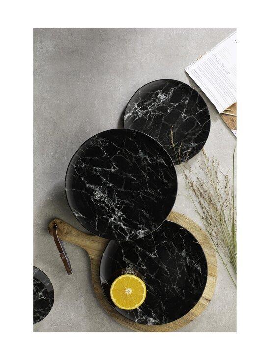 Villeroy & Boch - Marmory-lautanen ⌀ 21 cm - BLACK   Stockmann - photo 2