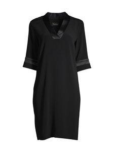 SAND Copenhagen - Crepe Satin Back Ambar Tunic Dress -mekko - 200 BLACK | Stockmann