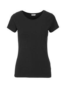 Filippa K - Fine Lycra T-Shirt -paita - 1433 BLACK   Stockmann