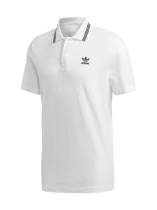 adidas Originals - Trefoil Essentials Polo Shirt -pikeepaita - WHITE | Stockmann