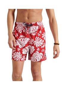 Superdry - Campus Hawaiian Swim Short -uimashortsit - VRI CAMPUS RED | Stockmann