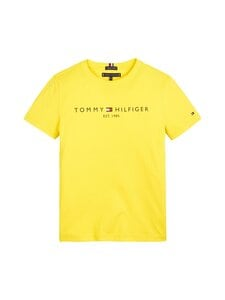 Tommy Hilfiger - Essential Tee -paita - ZH3 VALLEY YELLOW | Stockmann