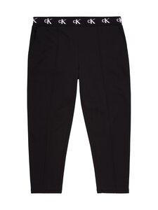 Calvin Klein Jeans Plus - Plus CK Logo Trim Jogger Pant -housut - BEH CK BLACK | Stockmann