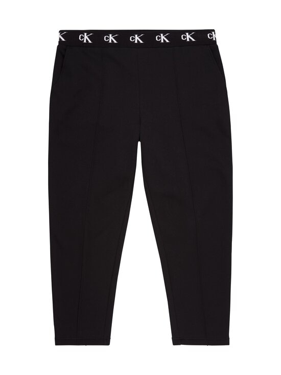 Plus CK Logo Trim Jogger Pant -housut