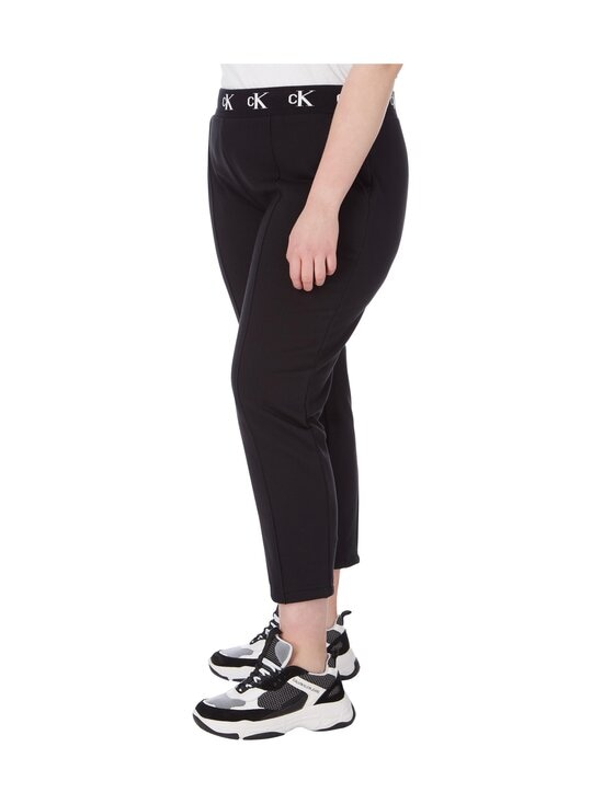 Calvin Klein Jeans Plus - Plus CK Logo Trim Jogger Pant -housut - BEH CK BLACK | Stockmann - photo 4
