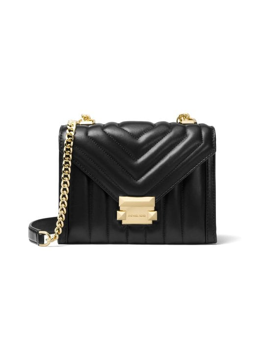 Michael Michael Kors - Whitney Small Shoulder Bag -nahkalaukku - BLACK (MUSTA) | Stockmann - photo 1