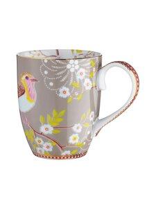 PIP Studio - Floral Early Bird -muki 0,35 l - KHAKI | Stockmann