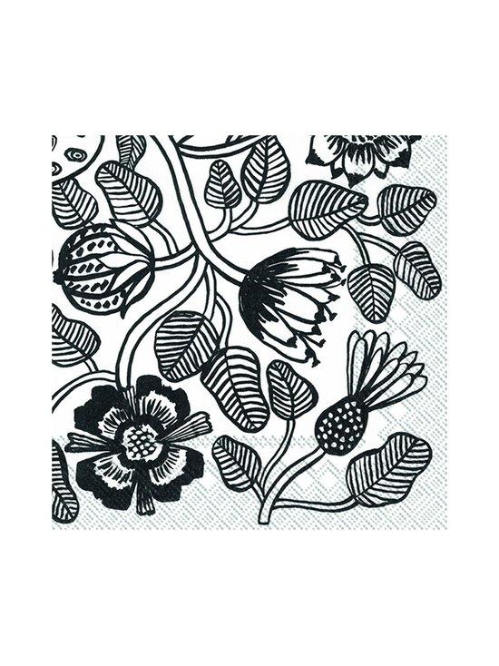 Marimekko - Tiara-servetti 33 x 33 cm - MUSTAVALKOINEN   Stockmann - photo 1