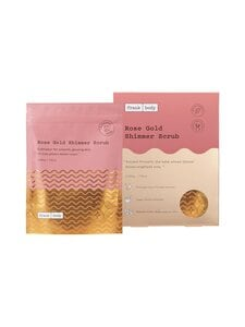 Frank Body - Rose Gold Shimmer Scrub -vartalokuorinta 220 g | Stockmann