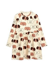 Mini Rodini - Fluffy Dog -mekko - BEIGE | Stockmann