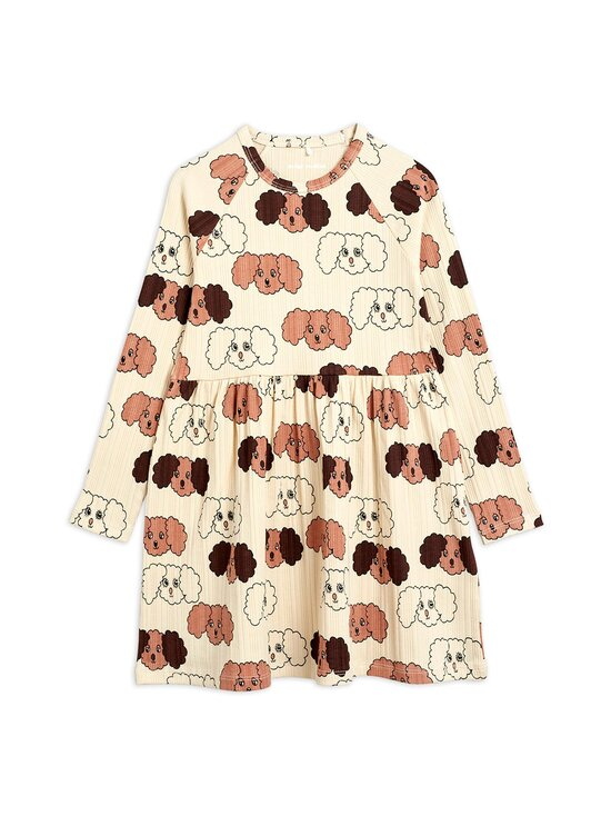 Mini Rodini - Fluffy Dog -mekko - BEIGE | Stockmann - photo 1