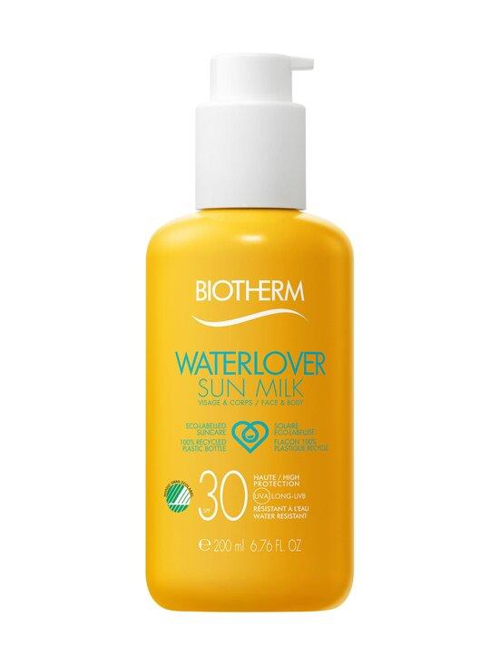 Biotherm - Waterlover Sun Milk SPF 30 -aurinkosuojavoide 200 ml | Stockmann - photo 1