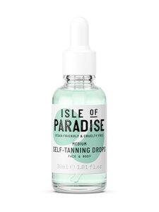Isle of Paradise - Medium Self Tanning Drops -itseruskettavat tipat 30 ml | Stockmann