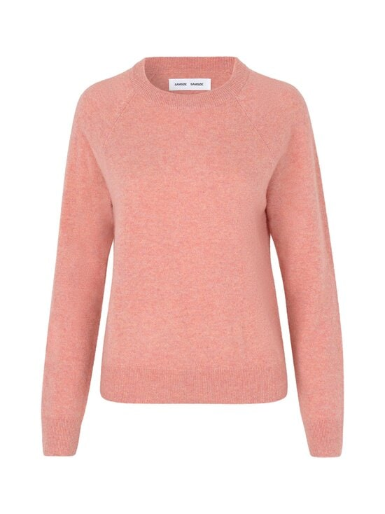 Samsoe & Samsoe - Boston O-Neck -kashmirneule - POWDER PINK MEL | Stockmann - photo 1