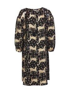 Marimekko - Yhdessä Musta Tamma -mekko - 925 BLACK, BEIGE, BLUE | Stockmann