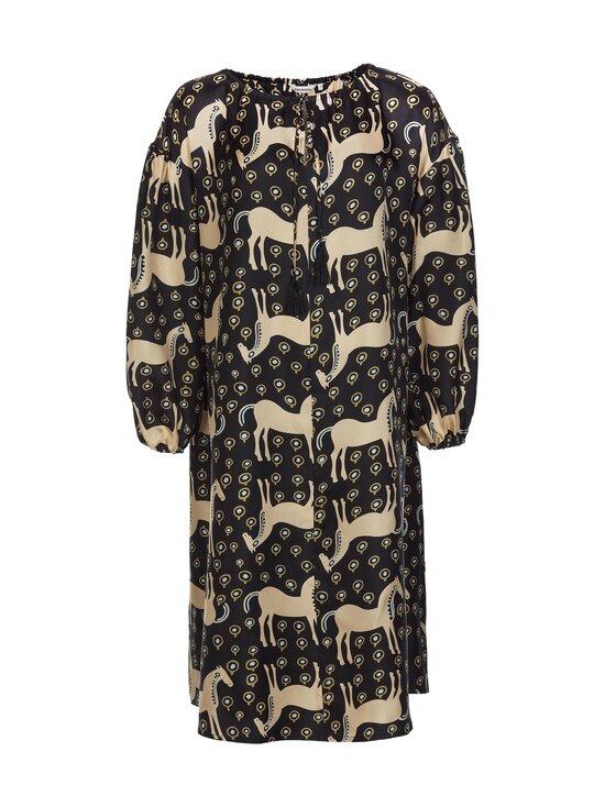 Marimekko - Yhdessä Musta Tamma -mekko - 925 BLACK, BEIGE, BLUE | Stockmann - photo 1