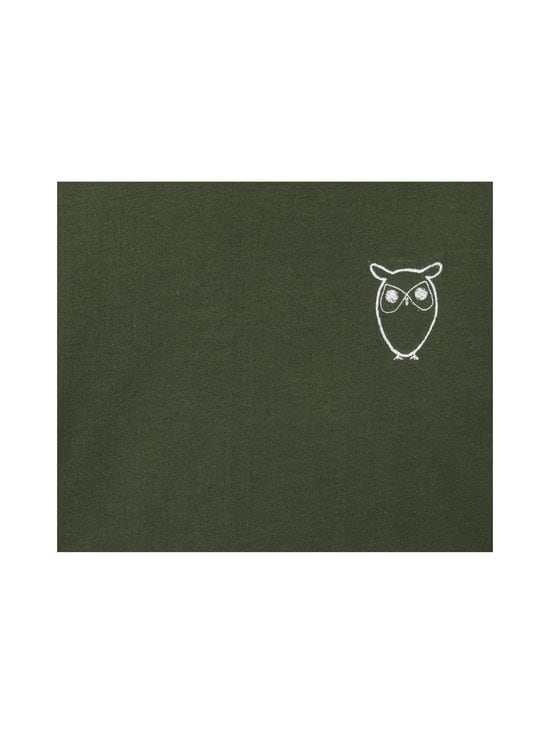 Knowledge Cotton Apparel - Flax Owl Long Sleeve Tee -paita - 1090 FORREST NIGHT | Stockmann - photo 2