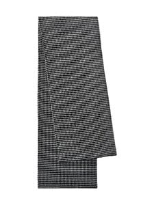 Totême - Double Wool Cashmere Scarf Houndstooth -villahuivi - HOUNDSTOOTH | Stockmann