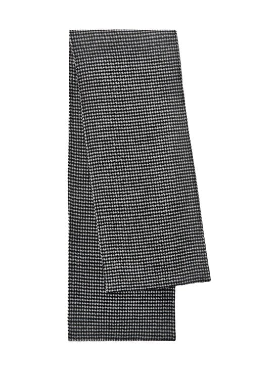 Totême - Double Wool Cashmere Scarf Houndstooth -villahuivi - HOUNDSTOOTH | Stockmann - photo 1