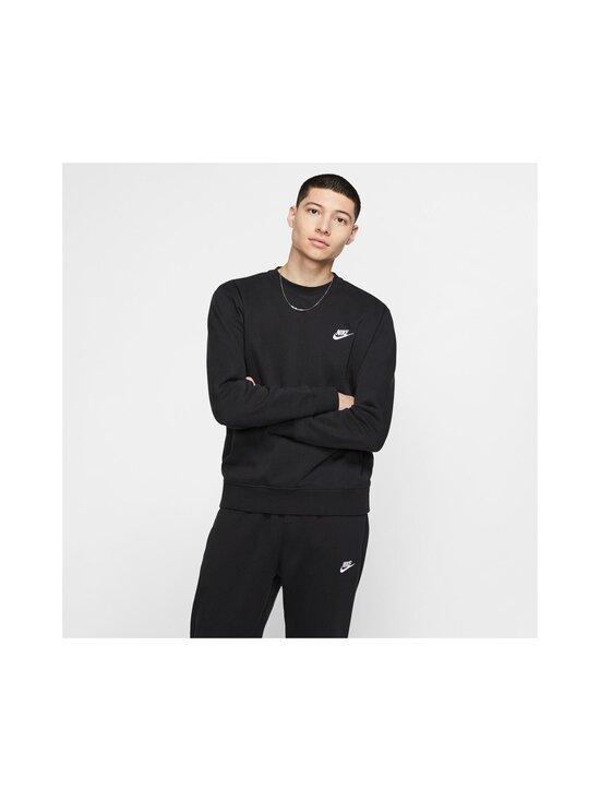 Nike - Club-fleecepaita - BLACK/WHITE 010 | Stockmann - photo 3