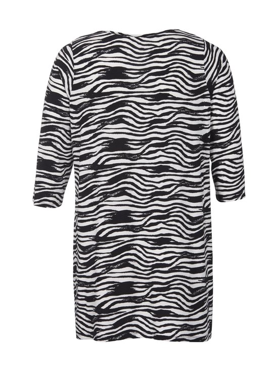 cut & pret PLUS - Celine-tunika - BLACK ZEBRA PRINT | Stockmann - photo 2