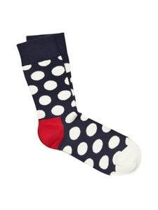 Happy Socks - Sukat - TUMMANSININEN/VALKOINEN | Stockmann