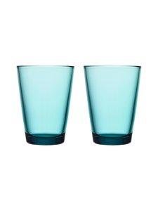 Iittala - Kartio-juomalasi 40 cl, 2 kpl - MERENSININEN | Stockmann