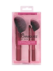 Real Techniques - Rebel Edge Trio Make Up Brush Set -sivellinpakkaus - null | Stockmann