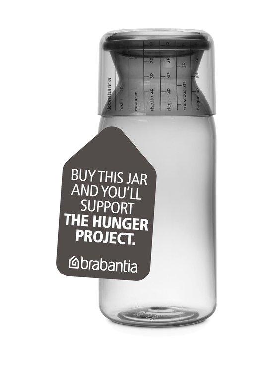 Brabantia - Storage Jar -säilytyspurkki ja mitta-astia 1,3 l - HARMAA | Stockmann - photo 1