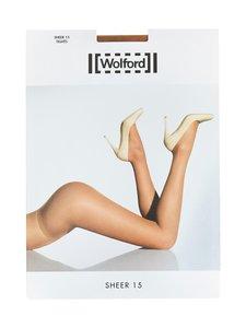 Wolford - Sheer 15 den -sukkahousut - FAIRLY LIGHT | Stockmann