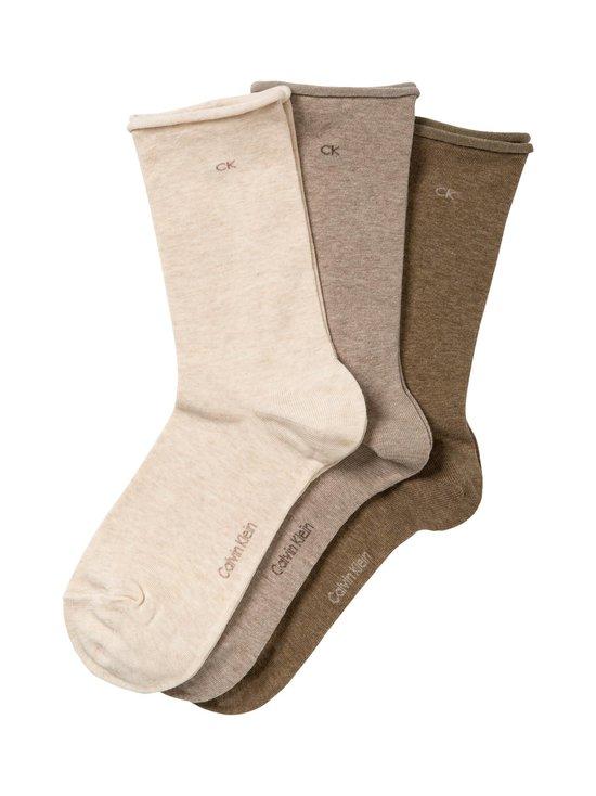 Calvin Klein Underwear - Sukat 3-pack - OATMEAL/TAUPE/MOSS | Stockmann - photo 1