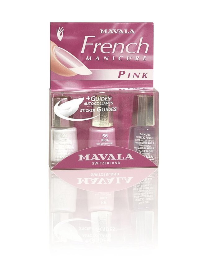 French Manicure Pink -tuotepakkaus