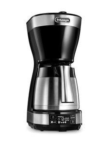 Delonghi - ICM16731-kahvinkeitin termoskannulla - TERÄS/MUSTA | Stockmann