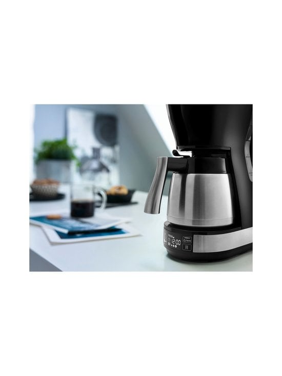 Delonghi - ICM16731-kahvinkeitin termoskannulla - TERÄS/MUSTA | Stockmann - photo 3