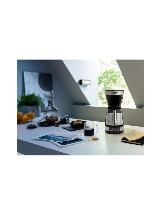 Delonghi - ICM16731-kahvinkeitin termoskannulla - TERÄS/MUSTA | Stockmann - photo 4