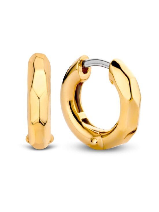 Ti Sento - Korvakorut - SILVER YELLOW GOLD PLATED | Stockmann - photo 2