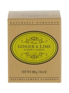 Naturally European - Naturally European Classique Ginger & Lime Luxury -tuoksukynttilä - GINGER & LIME | Stockmann