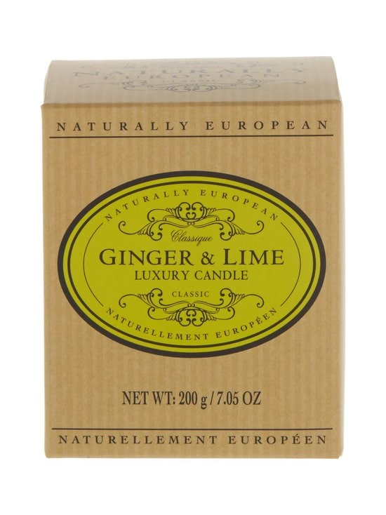Naturally European - Naturally European Classique Ginger & Lime Luxury -tuoksukynttilä - GINGER & LIME | Stockmann - photo 1