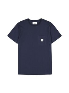 Makia - Square Pocket T-Shirt -paita - 661 DARK BLUE | Stockmann