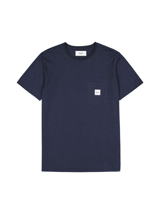 Makia - Square Pocket T-Shirt -paita - 661 DARK BLUE | Stockmann - photo 1