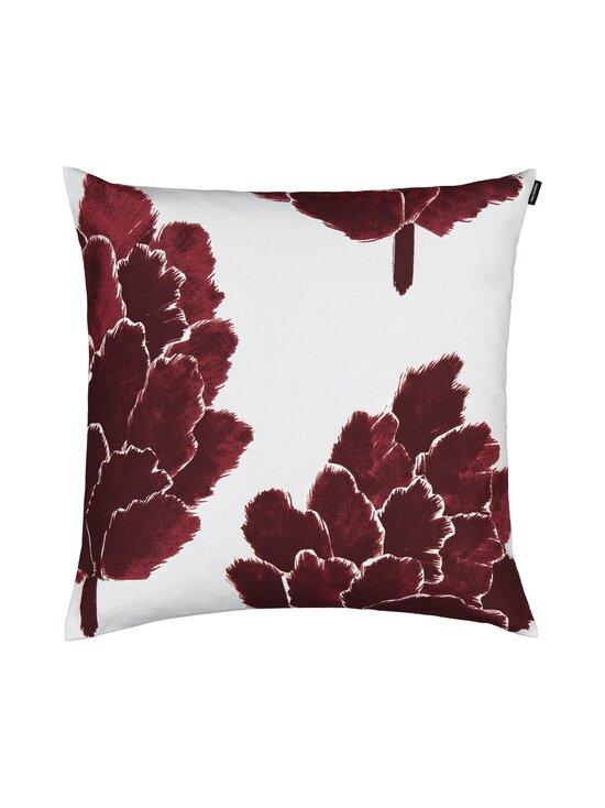 Marimekko - Käpykukka-tyynynpäällinen 50 x 50 cm - 930 LIGHT GRAY, WINE-RED | Stockmann - photo 1