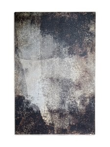 Muubs - Earth-matto 200 x 300 cm - BLACK/BROWN/BURNED PATTERN | Stockmann