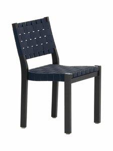 Artek - 611-tuoli - MAALATTU MUSTA/MUSTA/SININEN | Stockmann