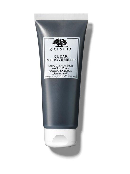 Origins - Clear Improvement Active Charcoal Mask To Clear Pores -kasvonaamio 75 ml - NOCOL | Stockmann - photo 1