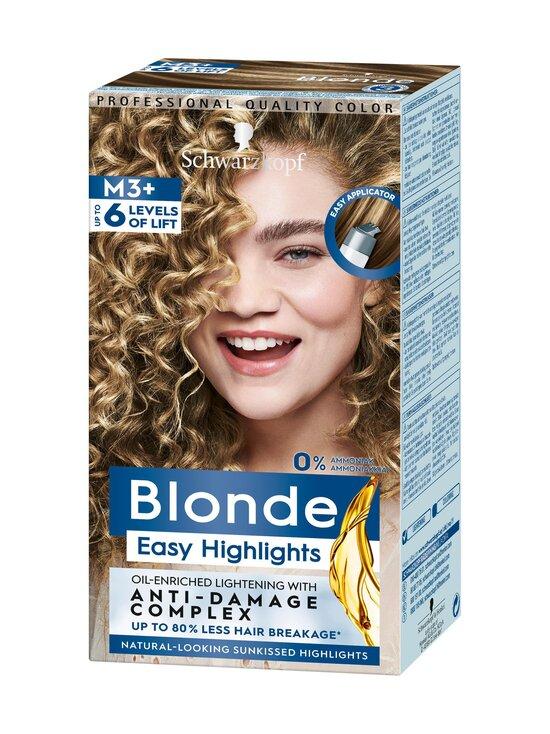 Schwarzkopf - Easy Highlights Blonde M3+ -raita-aine - NOCOL   Stockmann - photo 1