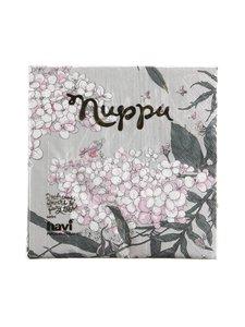 Havi - Nuppu Syysmuutto -servetti 33 x 33 cm, 20 kpl - GREY | Stockmann